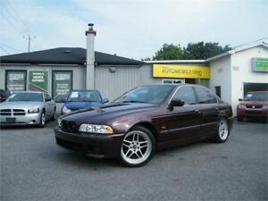 1998 BMW SERIE 5 . VERITABLE AUTO DE COLLECTION