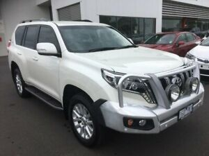 2015 Toyota Landcruiser Prado GDJ150R MY16 VX (4x4) Crystal Pearl 6 Speed Automatic Wagon Sale Wellington Area Preview