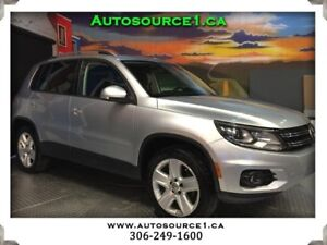 2012 VW Tiguan Comfortline 4motion | AWD | LEATHER | SUNROOF