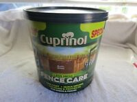 10 litres Cuprinol Rustic Brown One Coat Quick Drying Fence Paint