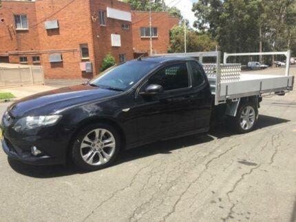 2009 Ford Falcon FG XR6 Black 5 Speed Auto Seq Sportshift Utility Granville Parramatta Area Preview