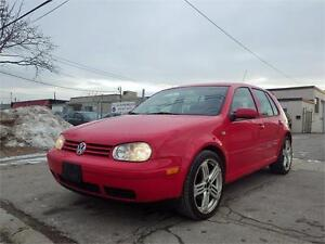 SOLD!!!VW GOLF 5-SPEED MANUAL! SUNROOF! 18' ALLOY RIMS!