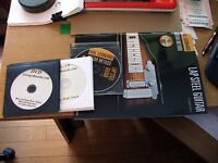 Lap steel guitar and fender amp. Never used.