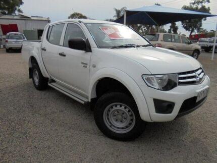 2011 Mitsubishi Triton White Automatic Utility Hastings Mornington Peninsula Preview