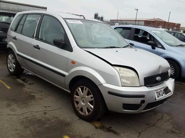 Ford Fusion 2004 1.4 TDCI Silver 52K **BREAKING**