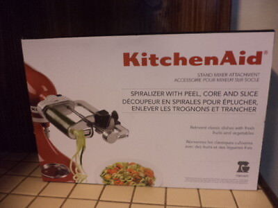 KitchenAid Spiralizer Attachment with Peel,Core and Slice KSM1APC-NEW-REDUCED
