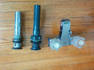 Used Faucet and Sink Drain Tails