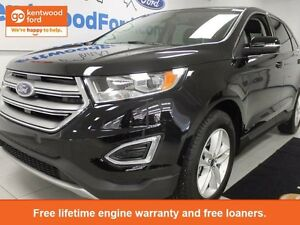 2016 Ford Edge with leather.
