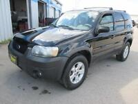 2005 FORD ESCAPE 4WD, LEATHER & SUNROOF, $6,450 SAFETY&WARRANTY