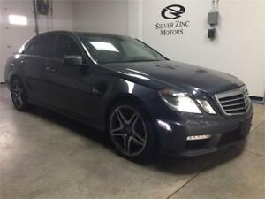 2011 Mercedes Benz E63 AMG, Performance Pkg, low kms