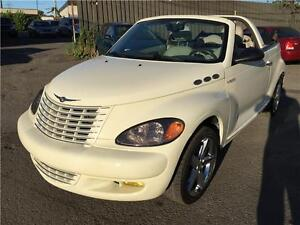 2005  PT Cruiser GT CONVERTIBLE TURBO AUTOMATIQUE GAR 1 AN NEG