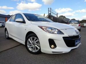 2012 Mazda 3 BL MY13 SP20 Skyactiv White 6 Speed Automatic Sedan Pooraka Salisbury Area Preview
