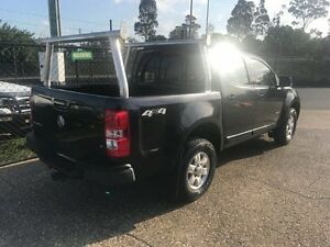 2013 Holden Colorado RG LT (4x4) Black 6 Speed Automatic Crew Cab P/Up