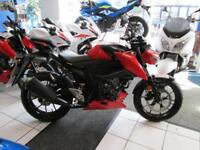 Suzuki GSXS125 WITH ONLY 19 MILES FROM NEW LOW RATE FINANCE