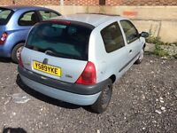 Renault Clio Grande Y reg. Petrol. 41,600m. 8 months MOT. Only two owners