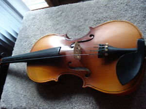 violin, case and bow