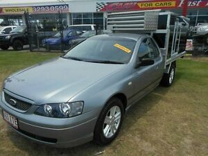 2004 Ford Falcon BA Tradesman Super Cab XL Silver 4 Speed Automatic Traytop Kippa-ring Redcliffe Area Preview