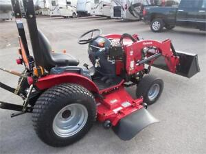 Mahindra 22xl with mower and LDR
