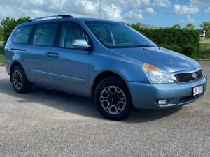 2011 Kia Carnival VQ S Blue Sports Automatic Garbutt Townsville City Preview