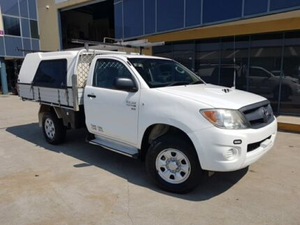 2007 Toyota Hilux KUN26R 07 Upgrade SR (4x4) 5 Speed Manual Cab Chassis