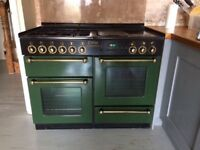 Large Rangemaster double oven 110cm wide