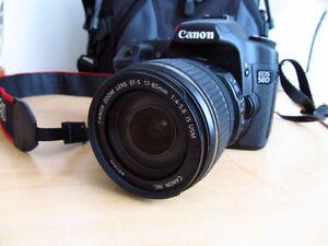Canon 50D avec lentille 17-85 mm IS