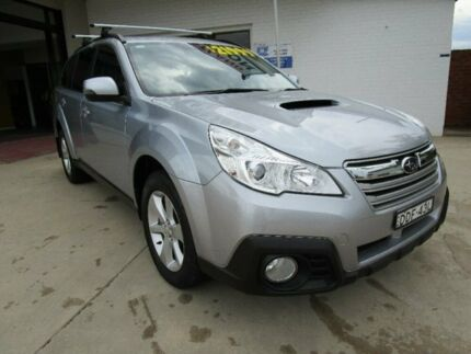 2013 Subaru Outback B5A MY13 2.0D Lineartronic AWD Premium Silver 7 Speed Constant Variable Wagon Macksville Nambucca Area Preview