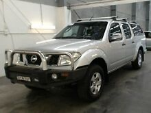 2007 Nissan Navara D40 ST-X (4x4) Silver 6 Speed Manual Beresfield Newcastle Area Preview