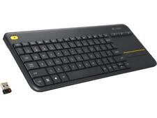 Logitech K400 Plus Wireless Touch Keyboard with Built-In Touchpad for Internet-C