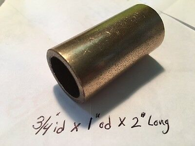 Bushing Bronze 34 Id X 1 Od X 2 Oilite Brass Bearing Sleeve Bush Spacer B2