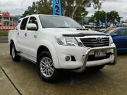 2014 Toyota Hilux KUN26R MY14 SR5 (4x4) White 5 Speed Automatic Dual Cab Pick-up Belconnen Belconnen Area Preview