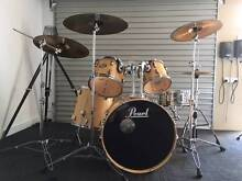 Pearl Vision 6pc  drum kit & 4 Sabian Cymbal Hornsby Heights Hornsby Area Preview