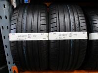 X83 2X 275/35/19 96Y DUNLOP SP SPORT MAXX GT DSST RSC MFS 2X6MM TREAD