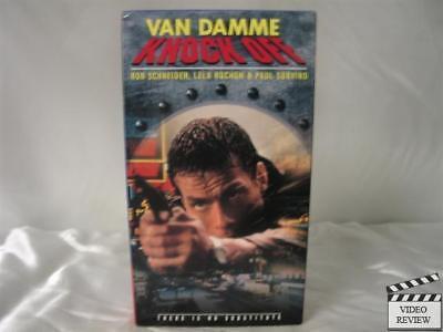 Knock Off VHS Jean-Claude Van Damme, Rob Schneider