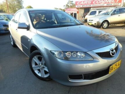 2005 Mazda 6 GG Classic Silver 4 Speed Auto Activematic Sedan Edgeworth Lake Macquarie Area Preview