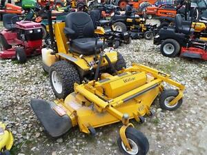 2012 Walker MBSY - Super Bee Mower with Deck and Sweeper Attachm