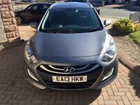 Hyundai i30 1.6 CRDi Blue Drive Active 5dr, Full Service History & 12 Months MOT, Only £30 Road Tax