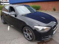 """13 BMW 114 1.6TD ( 95bhp ) SPORT """"""""£30 A YEAR ROAD TAX"""""""""""