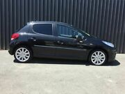 2012 Peugeot 207 Sportium S.e. Black 4 Speed Automatic Hatchback Phillip Woden Valley Preview