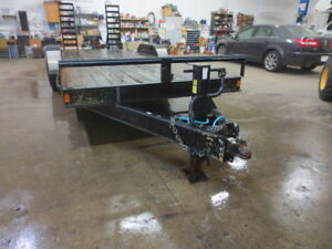 20FT DOUBLE A EQUIPMENT TRAILER