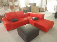 Top-Grain Leather Sectionals - CLEARANCE - Save over $500