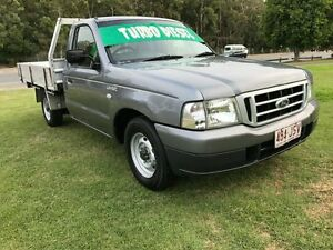 2006 Ford Courier PH GL Silver 5 Speed Manual Cab Chassis Clontarf Redcliffe Area Preview
