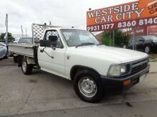 1993 Toyota Hilux RN85R White 5 Speed Manual Laverton Wyndham Area Preview