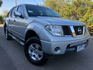 2009 Nissan Navara D40 ST-X (4x4) Silver 6 Speed Manual Dual Cab Pick-up Hoppers Crossing Wyndham Area Preview