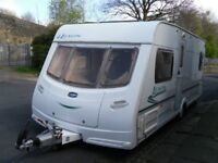 2006 Lunar Lexon 4 berth fixed bed and Full Awning