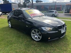 2006 BMW 320i E90 Executive Steptronic Black 6 Speed Sports Automatic Sedan Ferntree Gully Knox Area Preview