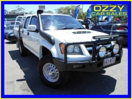 2009 Holden Colorado RC MY09 LX (4x4) White 5 Speed Manual Crew Cab Pickup