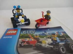 LEGO CITY POLICE ATV SET 60006 COMPLETE INSTRUCTIONS