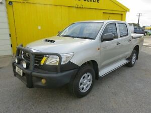 2011 Toyota Hilux Turbo Diesel KUN26R SR Silver 5 Speed Manual Dual Cab Reynella Morphett Vale Area Preview