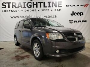 2016 Dodge Grand Caravan SXT Premium Plus, U Connect, DVD, Nav,